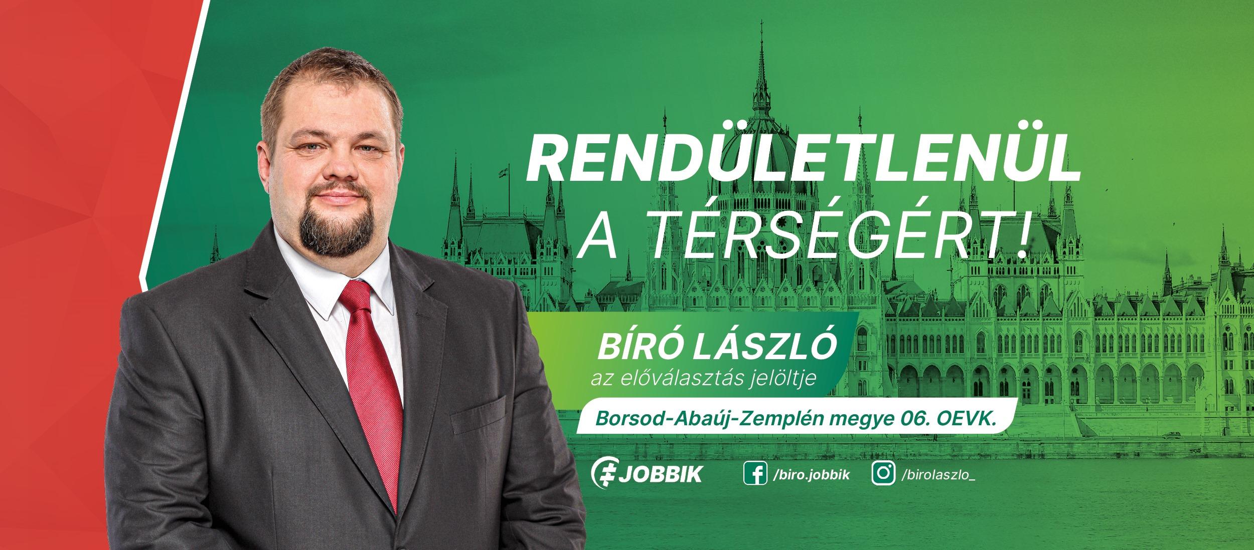Jewish Org Mazsihisz Protests Against New Candidacy of Jobbik's László Bíró