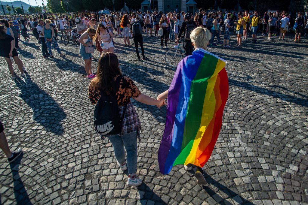 Protesters Ask President Áder Not to Sign New Law Banning 'Promotion of Homosexuality' post's picture