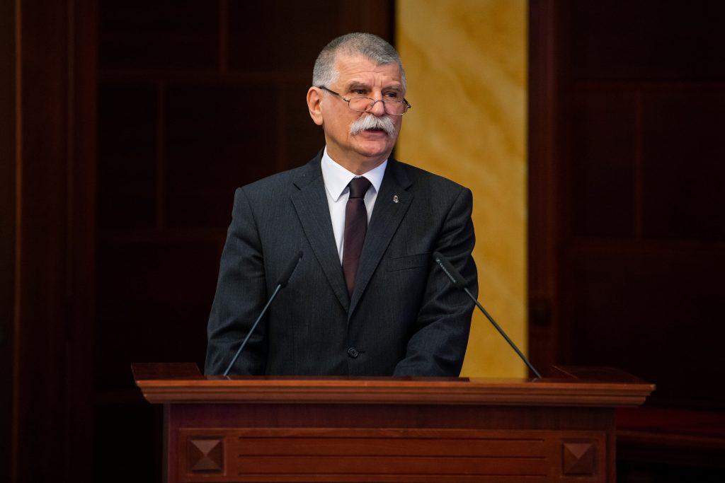 House Speaker Kövér: Hungary Wants to Stay 'Hungarian Country' post's picture