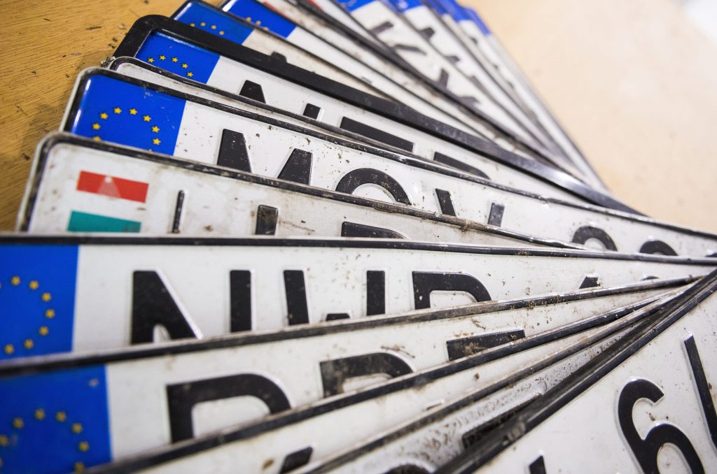 Hungarian License Plates to Have Extra Letter from Next Summer post's picture