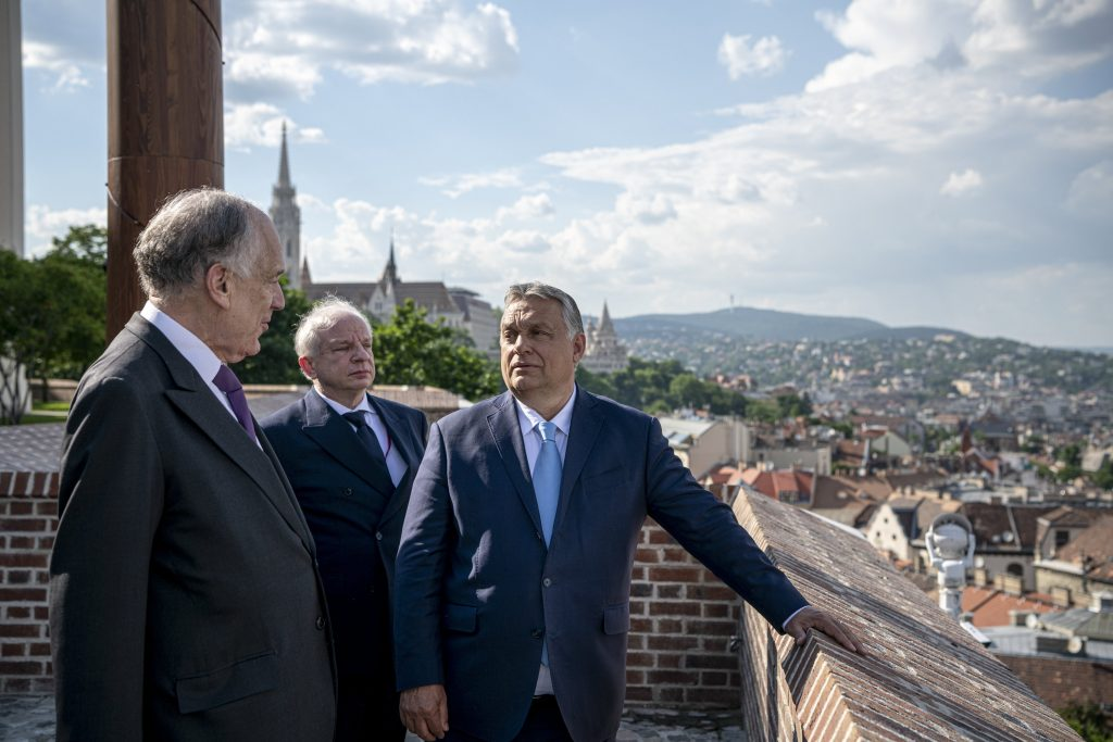 Orbán to World Jewish Congress Head: Hungarian Gov't Handles Anti-Semitism with Zero Tolerance post's picture