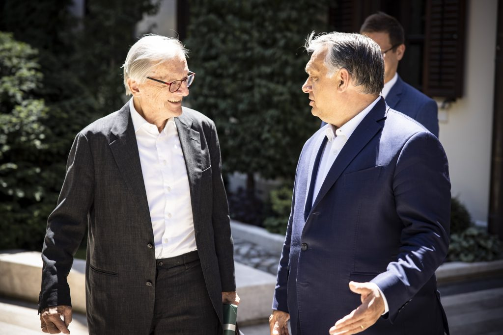 PM Orbán Discusses Economic and Political Changes with Former Austrian Chancellor post's picture