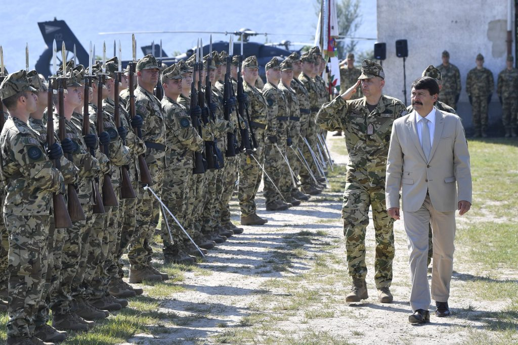 President Áder: Hungarian Armed Forces Guarantee Country's Security post's picture