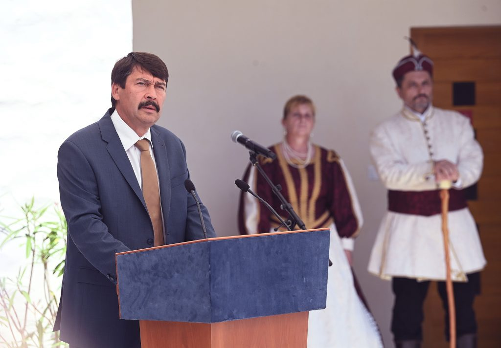 President Áder Inaugurates Restored Ferenc Rákóczi II Castle in Slovakia post's picture