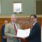 Deputy PM Decorates Chinese Investor Frank Liu