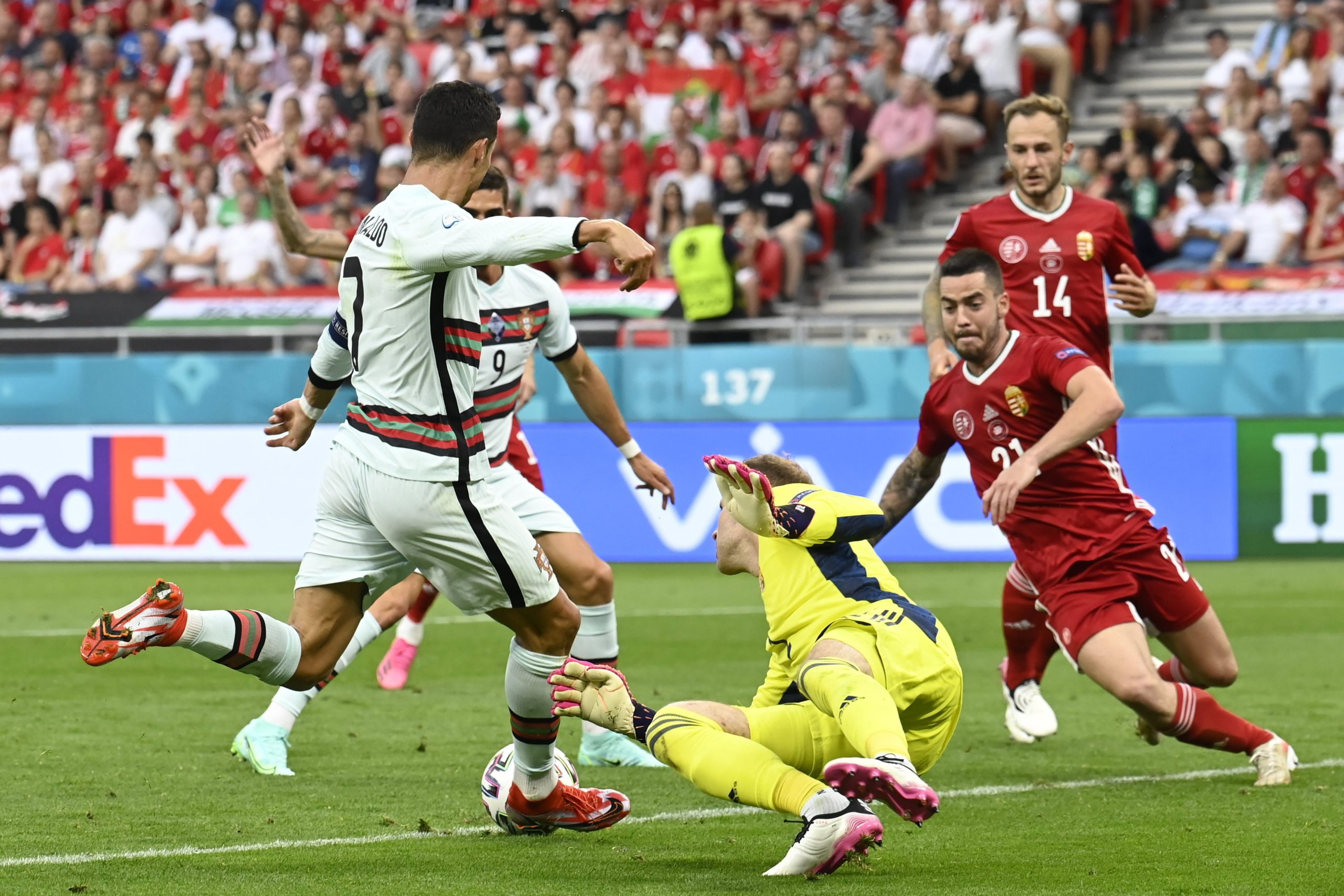 EURO 2020: Luck Favors Portugal, but Hungary Leaves Pitch with Heads Held High