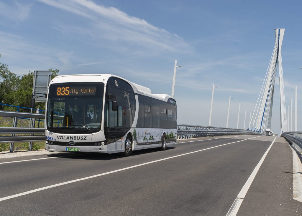 First Electric Bus Manufactured in Hungary for Volánbusz post's picture