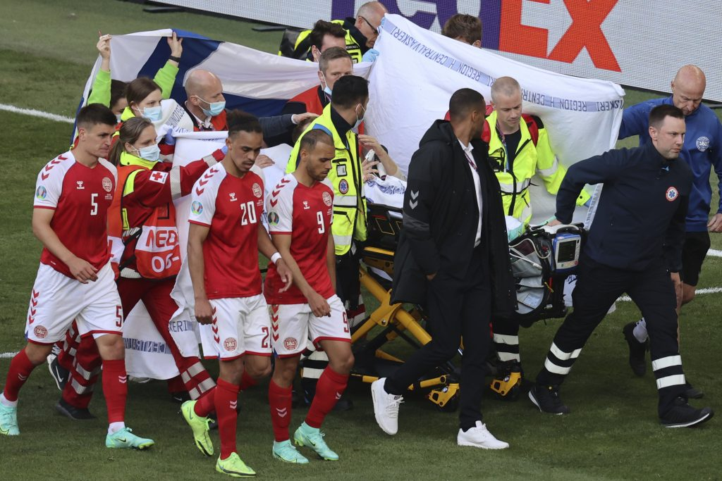 Hungary's National Football Team Shocked by Eriksen's Collapse post's picture