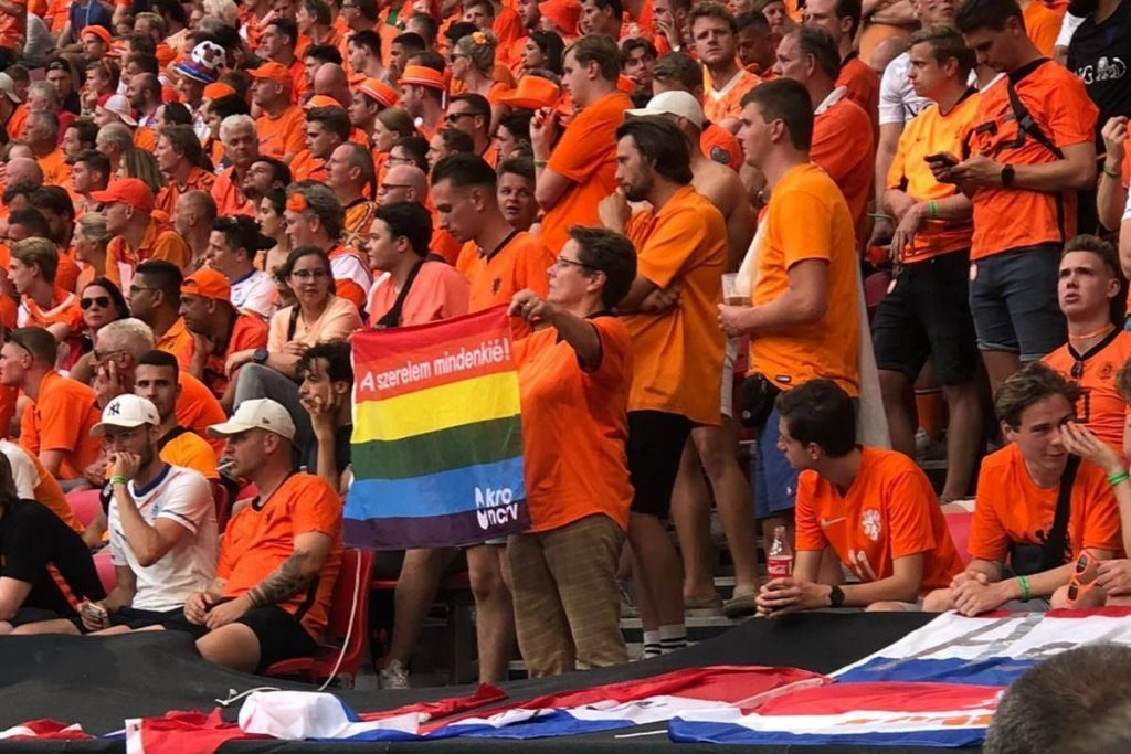 MLSZ Denies Accusation of Banning Rainbow Flags from Stadium and Fan Zone post's picture