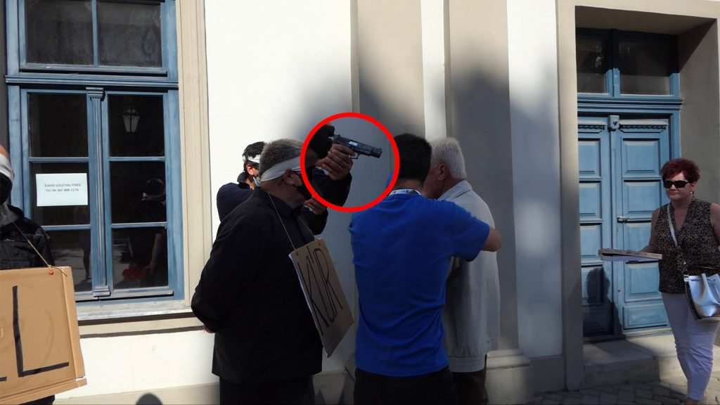 Armed Man Disrupts DK Dobrev Campaign Event in Eger post's picture