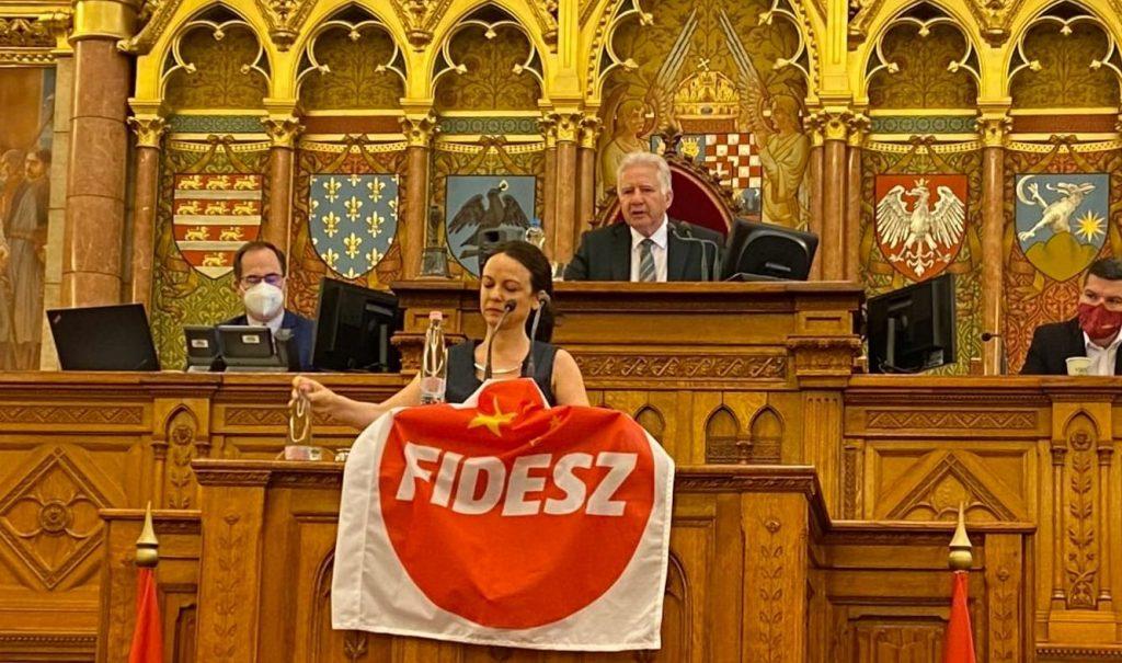 House Speaker Fines Ferenc Gyurcsány, Tímea Szabó Millions of Forints post's picture