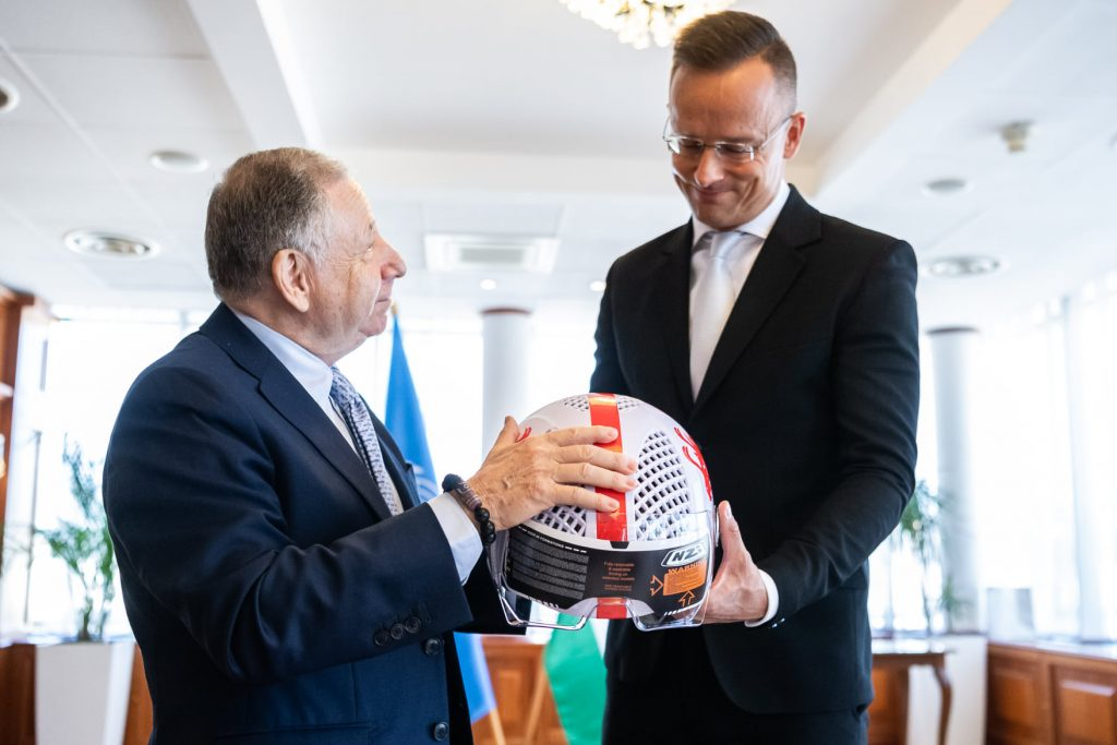 FM Discusses Road Safety, Hungaroring Upgrades with FIA President post's picture