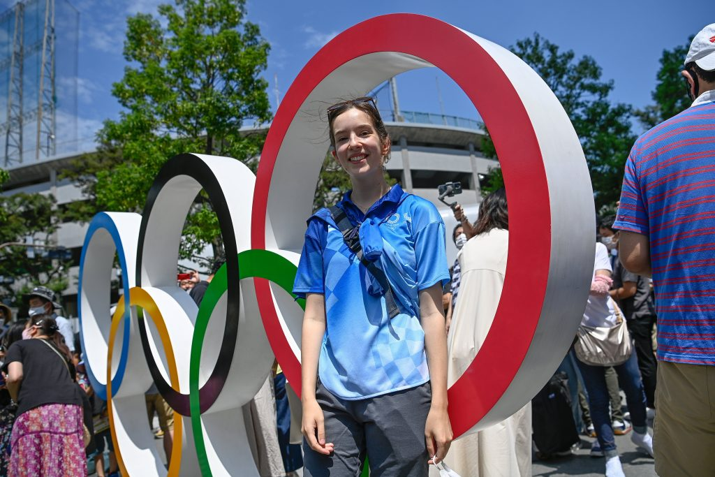 Hungarian Student One of Only Two Foreign Volunteers at Tokyo Olympics post's picture