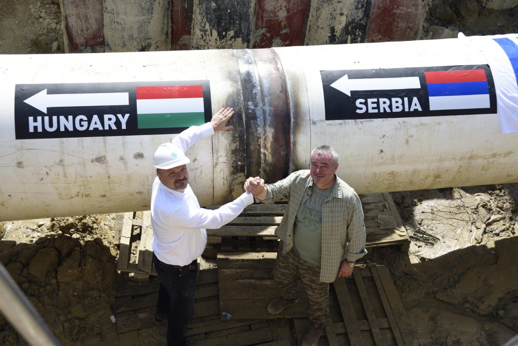 Hungary and Serbia Connect Black Sea-Central EU Gas Pipeline Networks post's picture