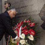 Orbán and Morawiecki Lay Wreaths at Katowice Memorial