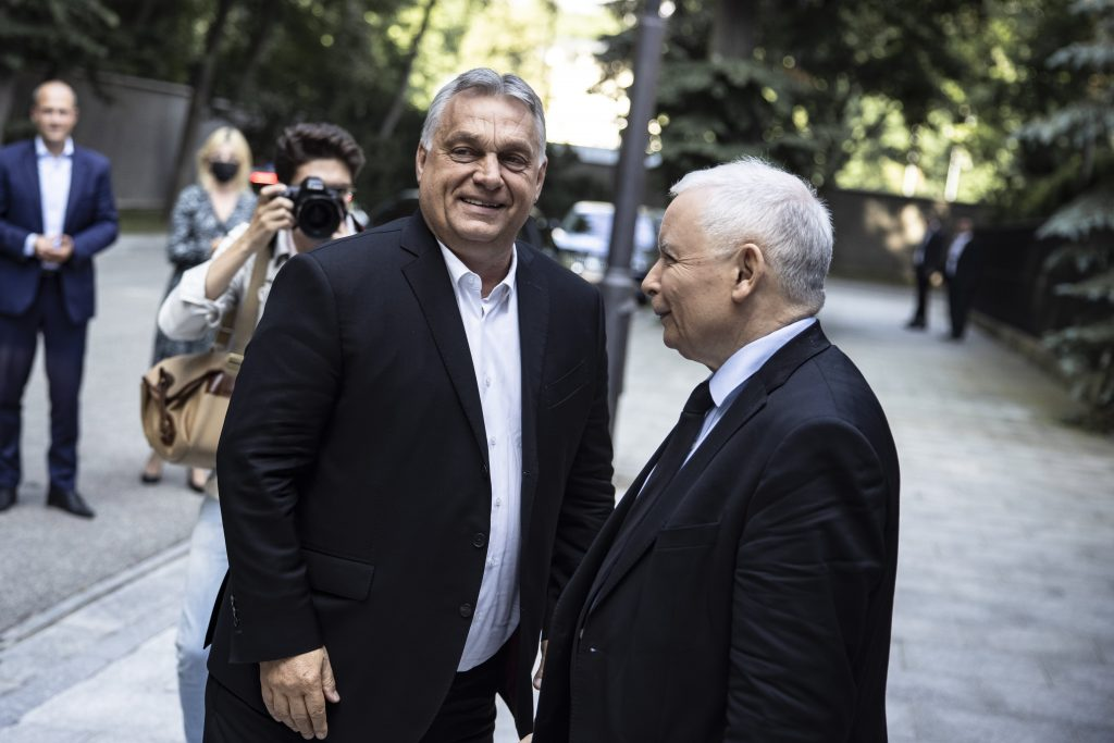 PM Orbán Holds Talks with PiS Leader Kaczynski in Warsaw post's picture