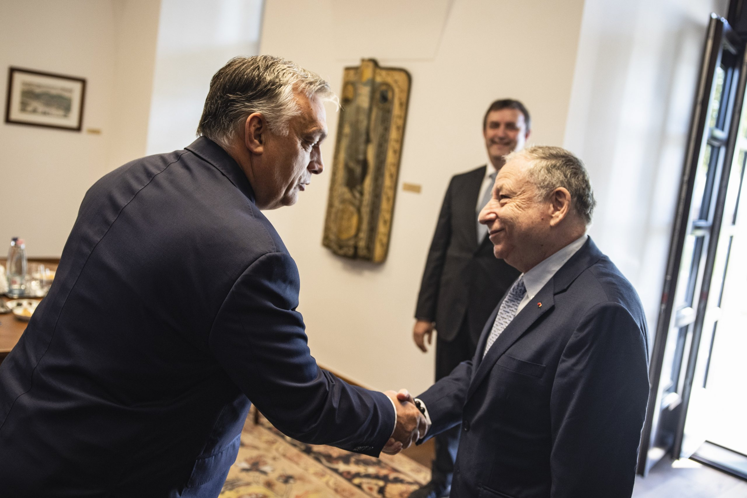 PM Orbán Meets Head of International Automobile Federation