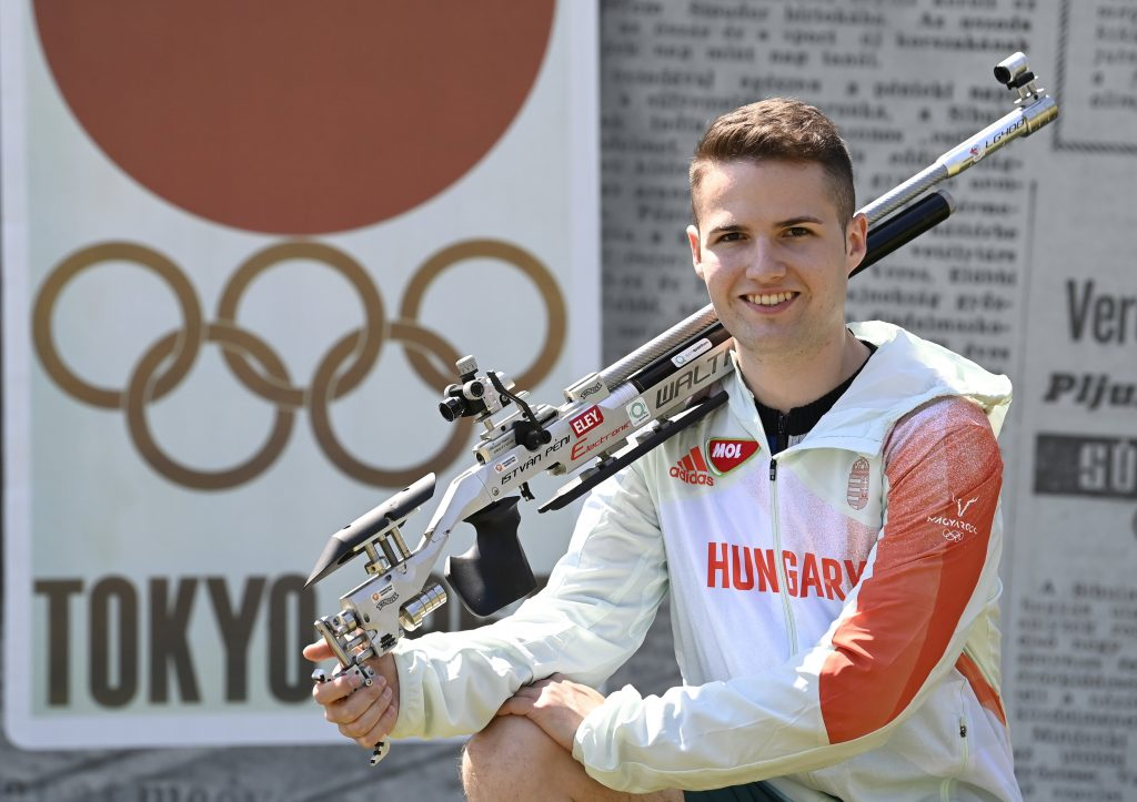 Tokyo 2020 Golden Hopes: Sport Shooter István Péni Could Win Several Medals post's picture