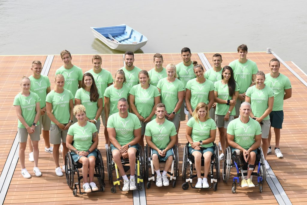 Hungarian Canoe Team Makes Debut for the Tokyo Olympics post's picture