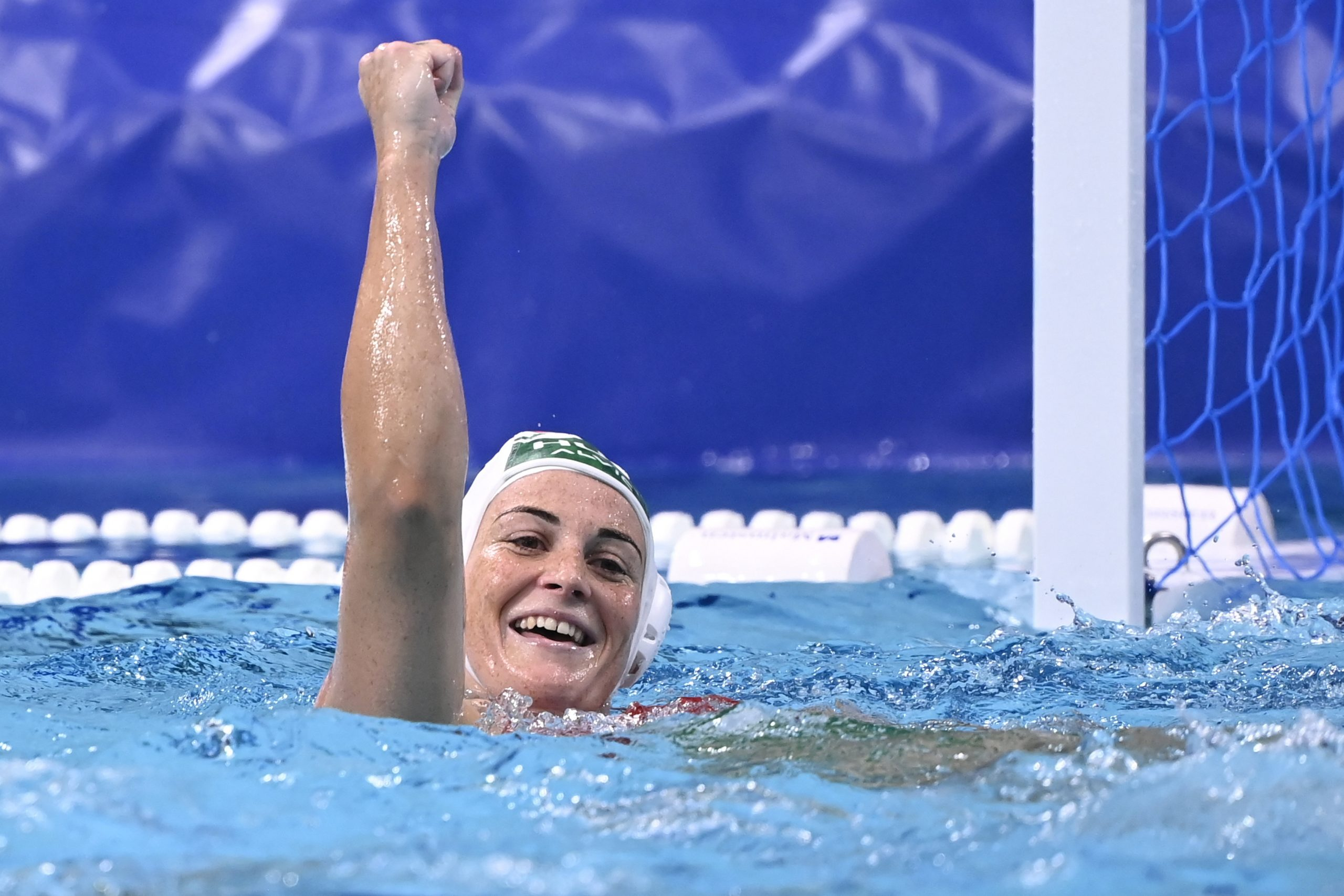 Hungarian Women's Waterpolo Team Defeats Favorite USA