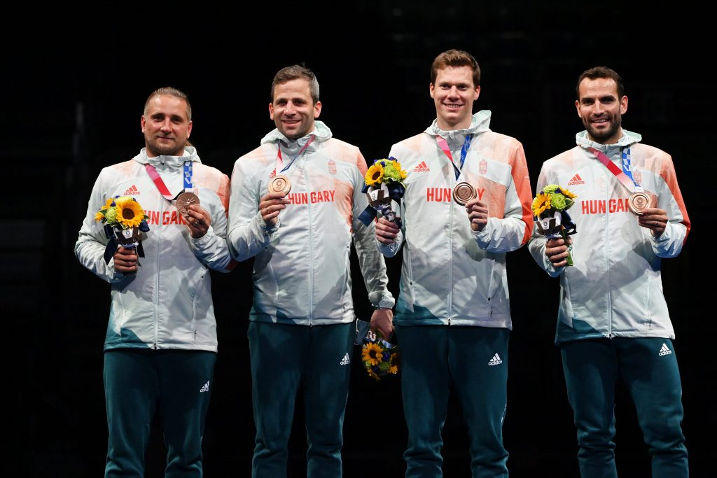 Men's Sabre Team Wins Olympic Medal After 25 Years post's picture