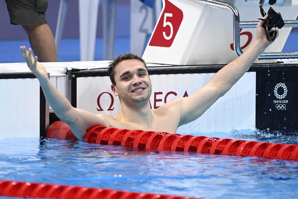 Following Fierce Duel Kristóf Milák Takes 100m Butterfly Silver post's picture