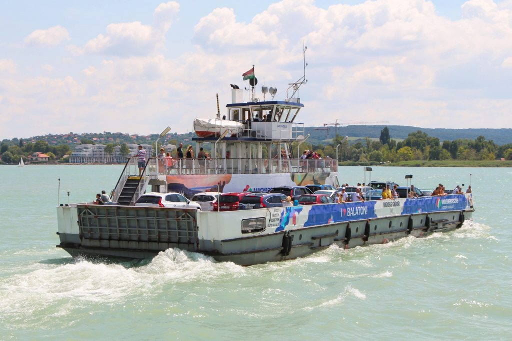 Balaton's Ferry Has Already Transported 1 Million People This Year post's picture