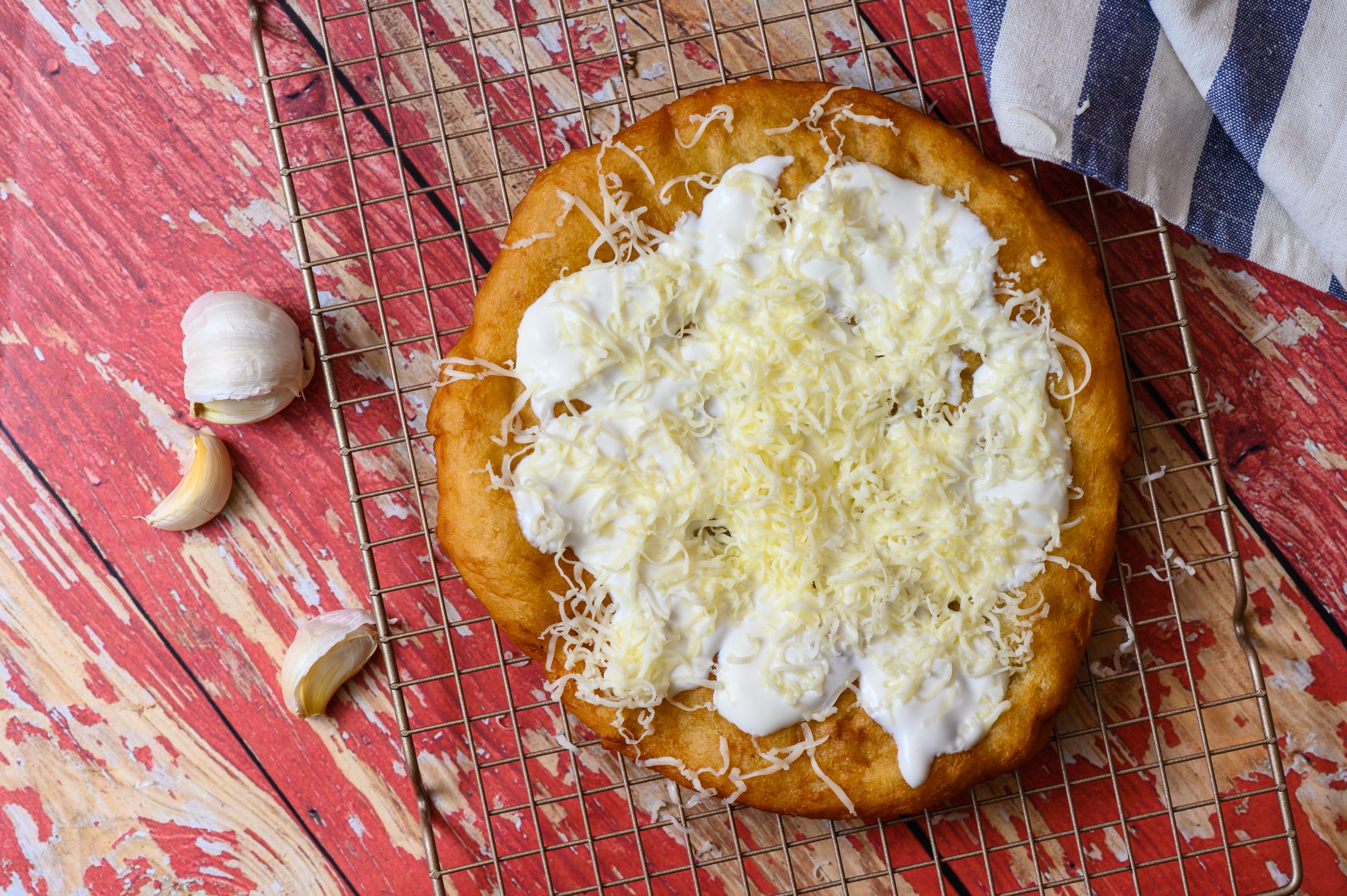 Lángos – The Most Ancient of Hungarian Foods - with Recipe!