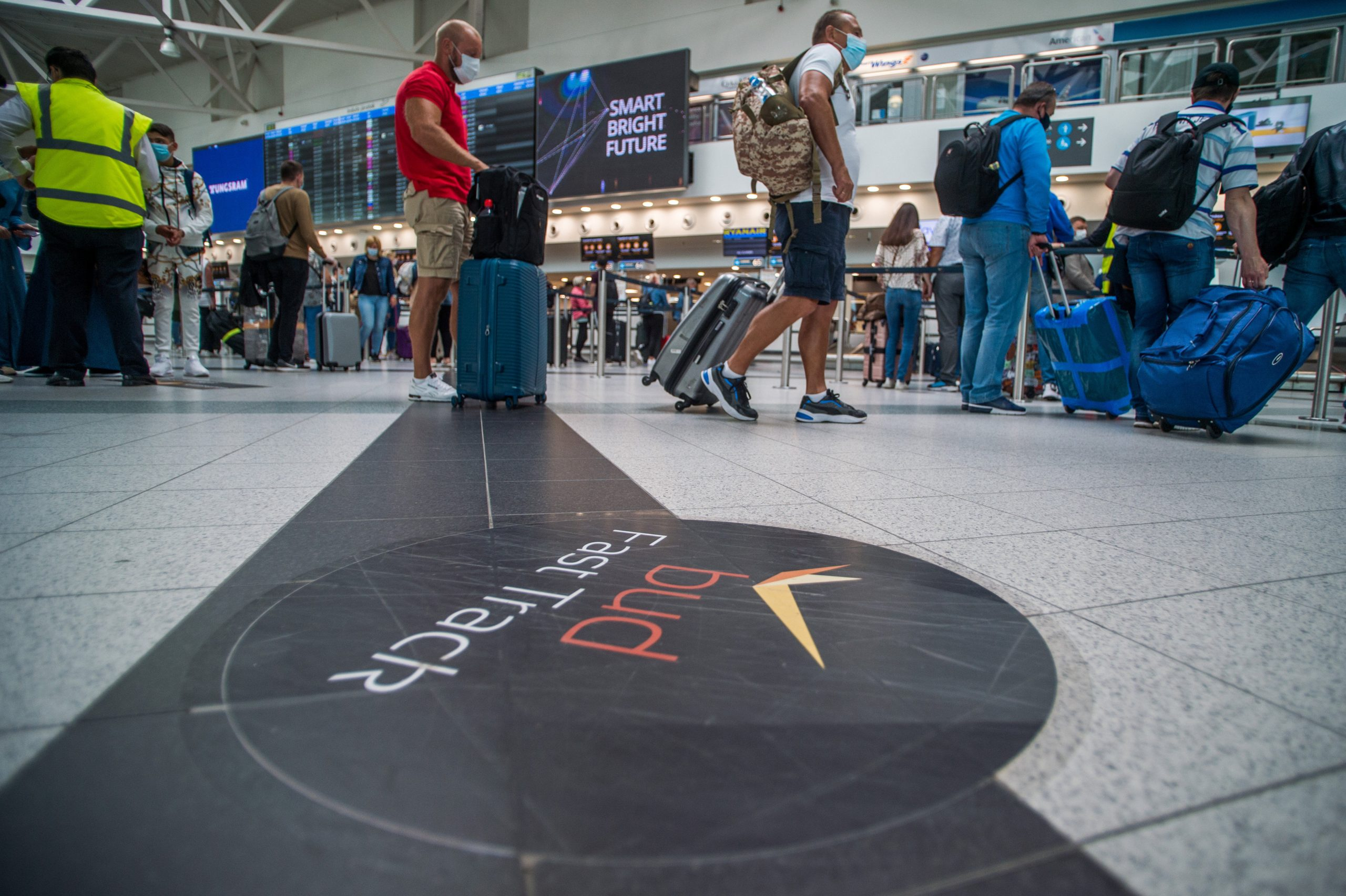 Liszt Ferenc Airport Passenger Numbers Close to 540,000 in July