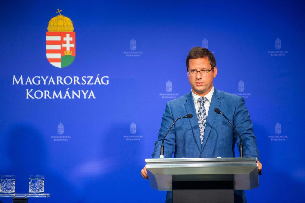 PMO Head Gulyás: 2021 GDP Growth 'Definitely' Above 5.5 pc post's picture
