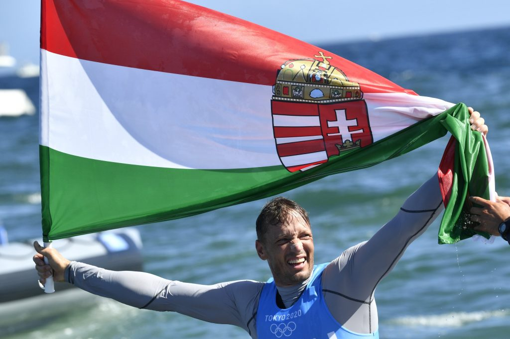 Zsombor Berecz Wins Hungary's First Silver in Olympic Sailing post's picture