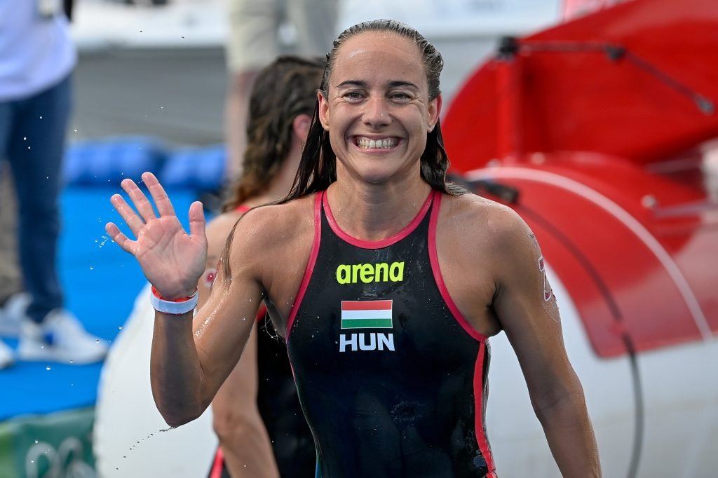 Marathon Swimmer Anna Olasz Four Seconds Short of Olympic Gold post's picture