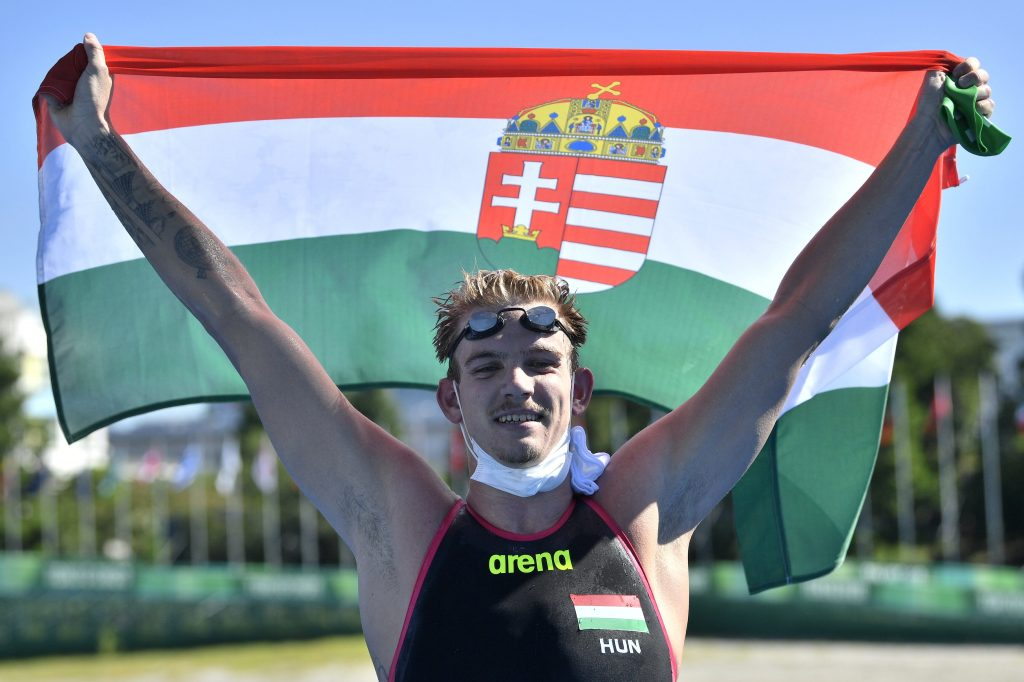Kristóf Rasovszky Wins Hungary Silver in Tokyo After Swimming 10km post's picture