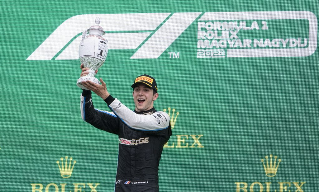 Ocon Seals His First Ever Victory in Formula One Hungarian Grand Prix post's picture