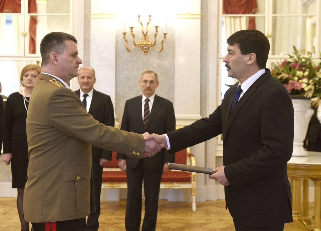 Hungarian Major General to Take over KFOR Command post's picture
