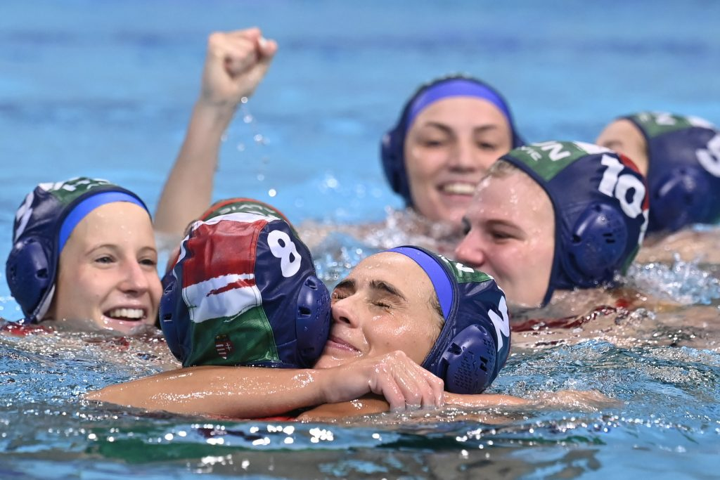 Tokyo 2020: Hungarian Women's Waterpolo Team Reaches Semi-Finals post's picture