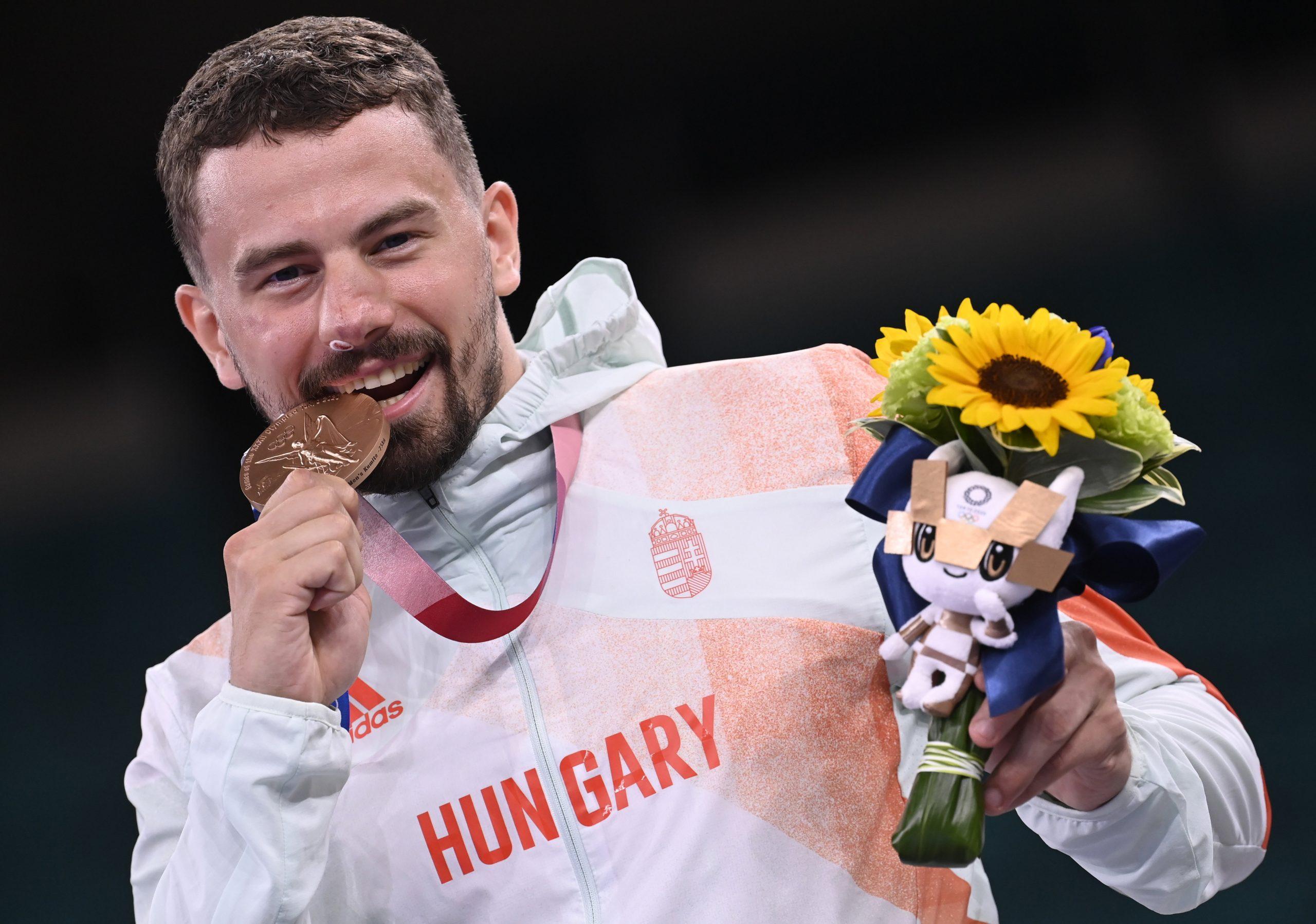 Hárspataki Claims Bronze in Men's 75kg Kumite