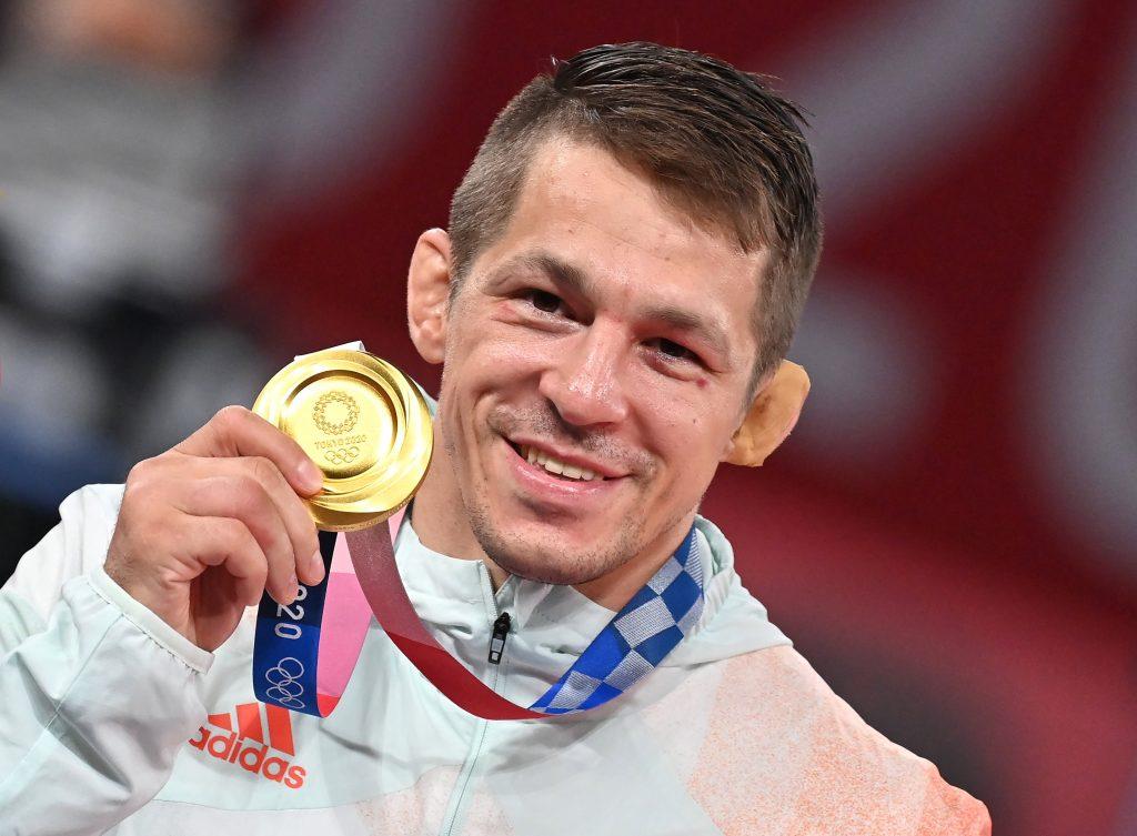 Wrestler Tamás Lőrincz's Final Battle Wins Him Olympic Gold post's picture