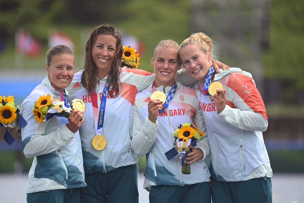 Hungary's Women's Kayak Four Become Olympic Champions for the Third Time in a Row post's picture