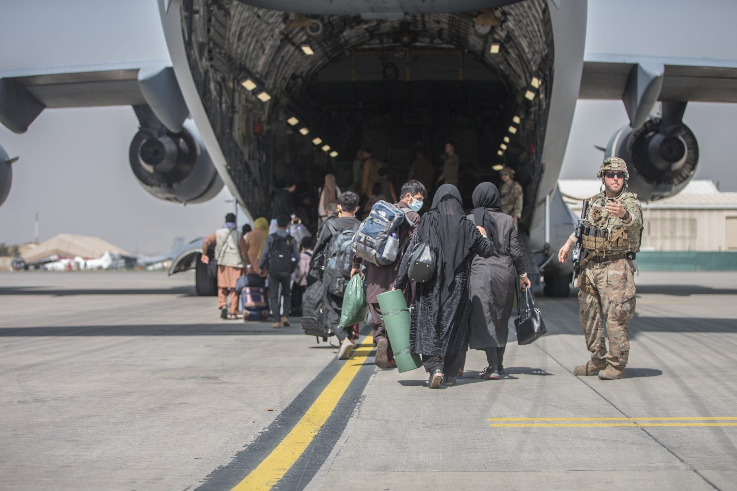 240 Afghan Refugees Rescued and to be Quarantined at Transit Zone