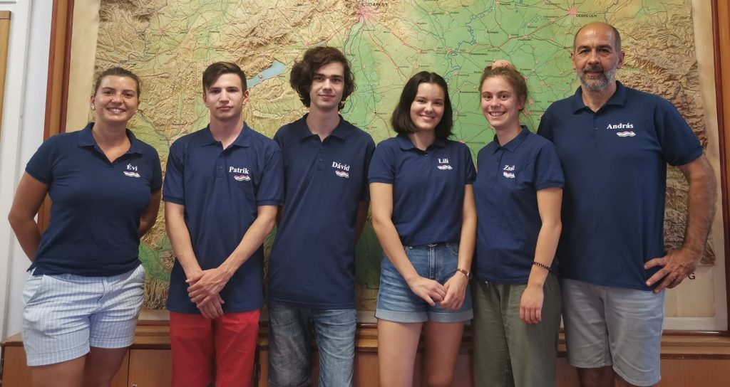 Hungarian Students Win Three Medals at Geography Olympiad post's picture