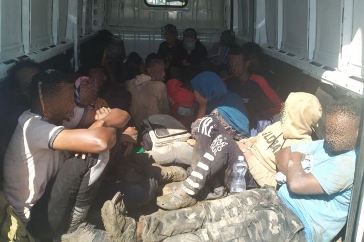 Twenty-one Border Violators Found in Van on Motorway M1 post's picture