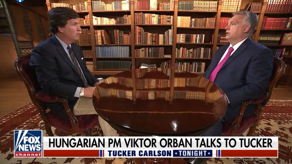 Orbán to Tucker Carlson: Liberals Cannot Accept Greater Success of National-Conservative Alternative post's picture