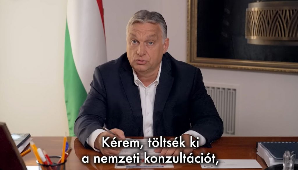PM Orbán Encourages Voters to Participate in Survey post's picture