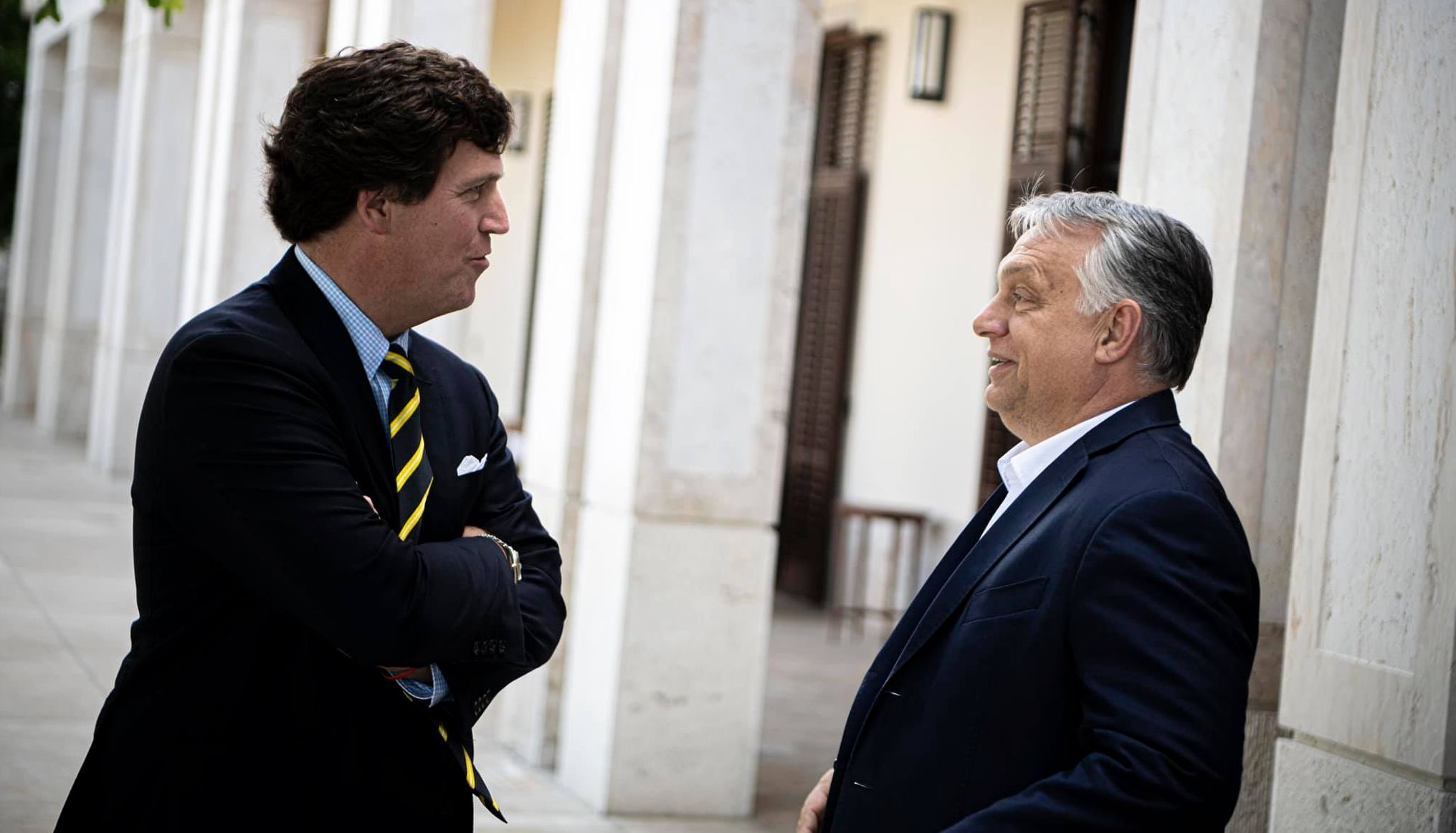 Press Roundup: Tucker Carlson's Visit to Hungary and His Interview with PM Orbán