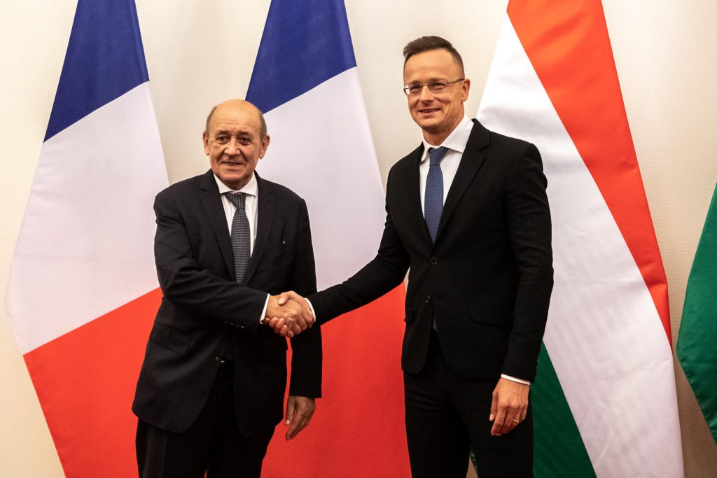 Hungarian, French Foreign Ministers Discuss Africa Support post's picture