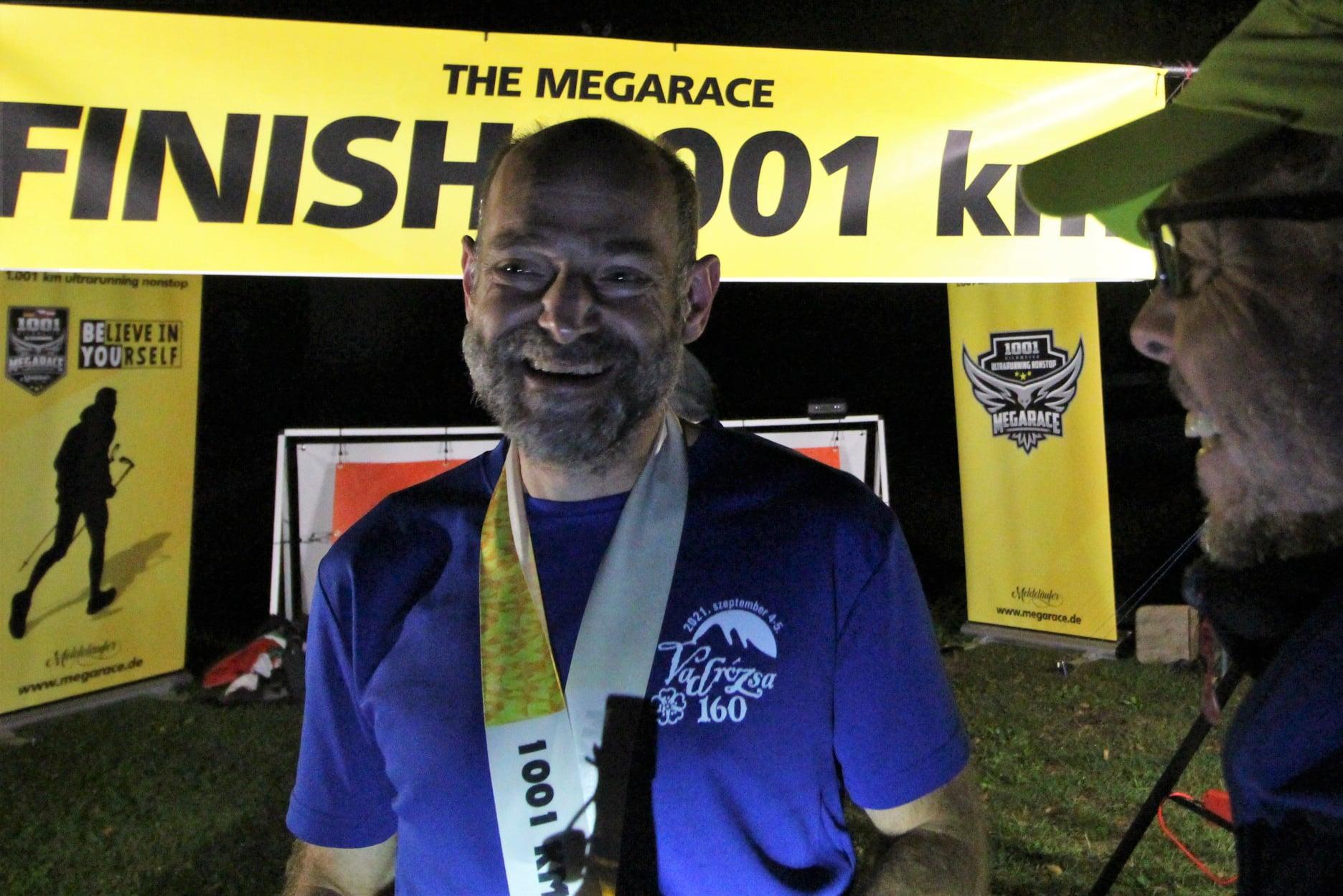 Hungarian Ultrarunner Wins World's Longest Cross-Country Race, 1,001 Kilometers