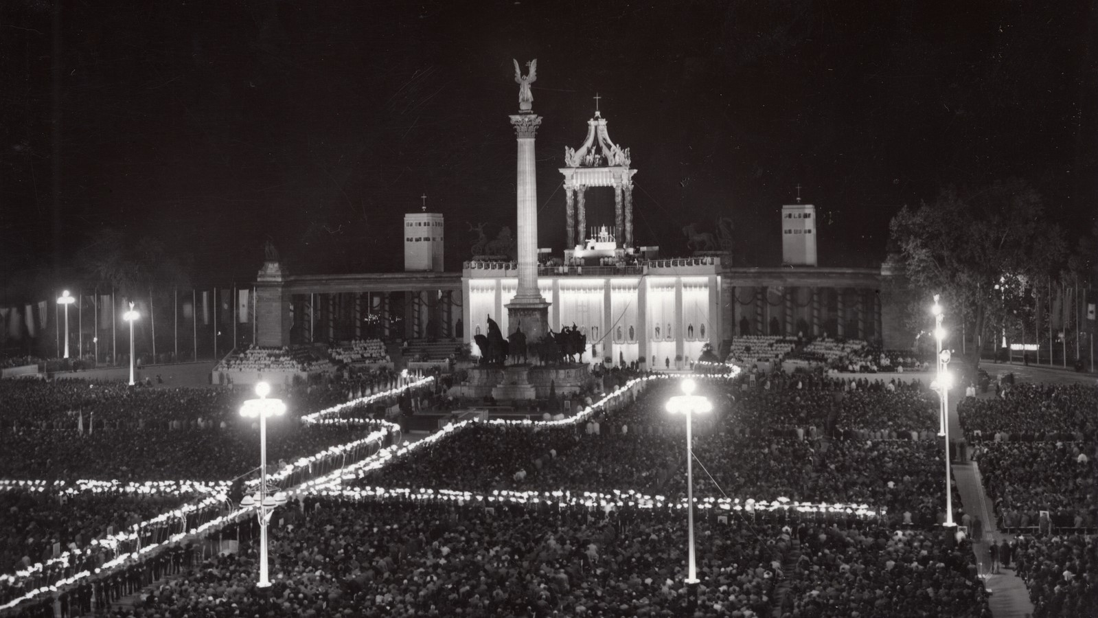 One Year Before WW2: Budapest's First International Eucharistic Congress in Pictures