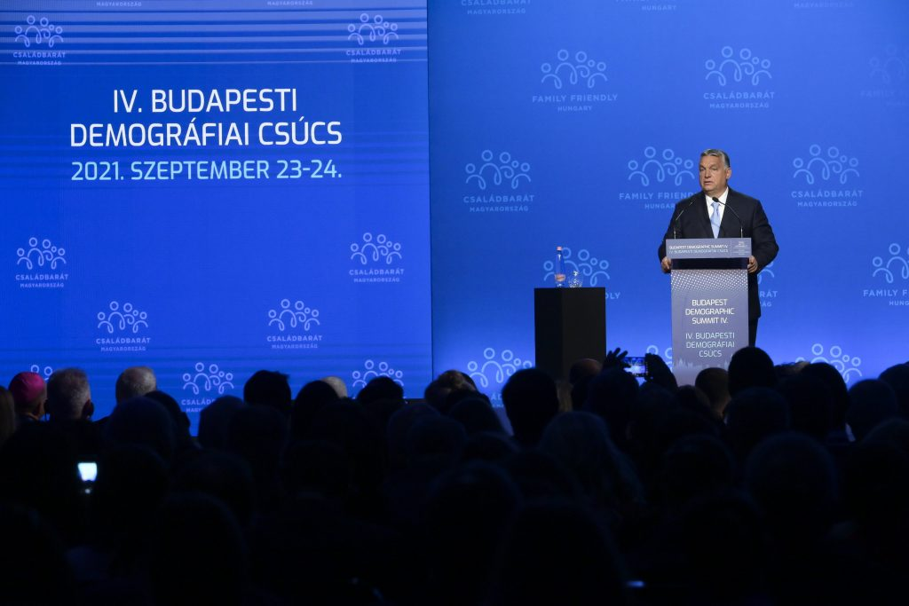 PM Orbán at Demographic Summit: West 'Unwilling to Sustain Itself' post's picture