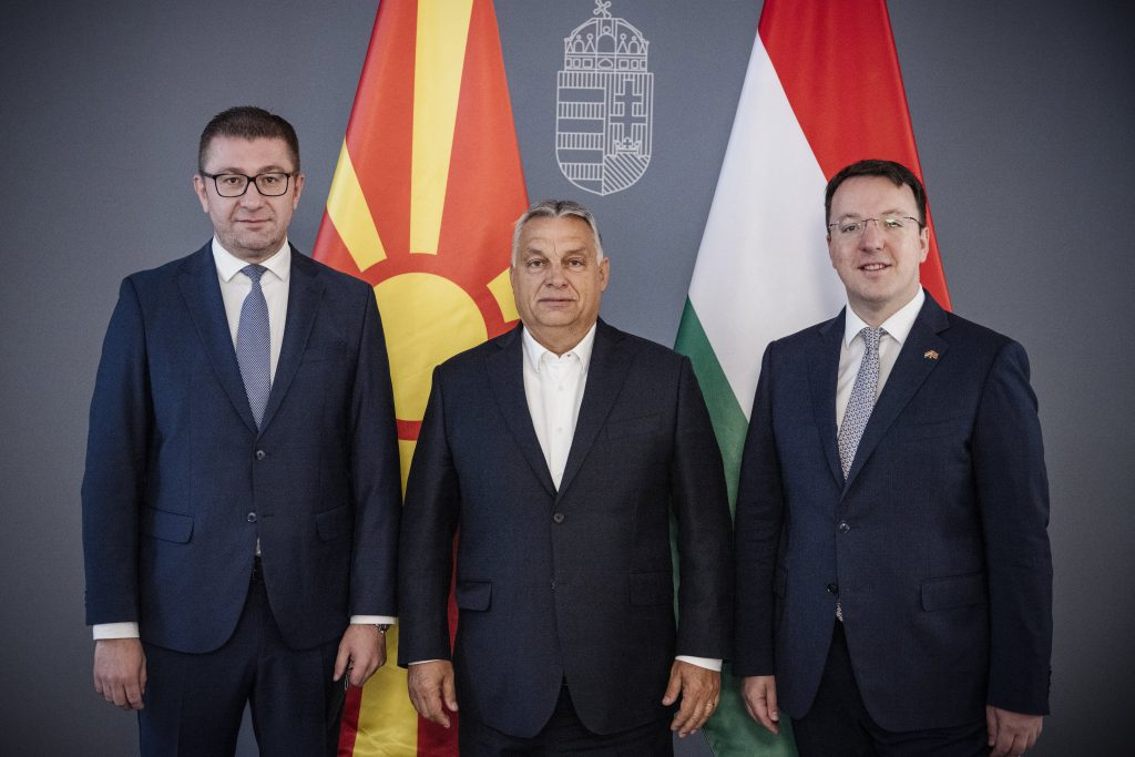 Orbán Assures North Macedonia's VMRO-DPMNE of Fidesz's Support ahead of Local Elections post's picture